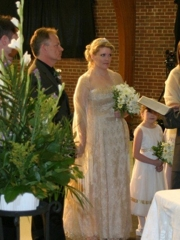 a wedding in the Journey sanctuary